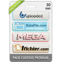 Cuentas Premium Uploaded Datafile Mega 1fichier 30 Dias