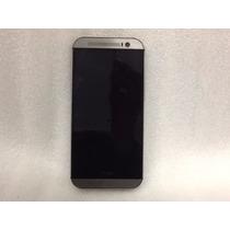Celular Htcone M8 32gb, 2gb Ram Liberado Usado Sin Accesorio