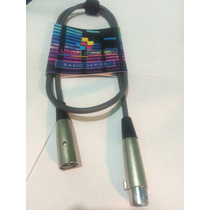 Cable Canon Con Conectores Xlr Para Audio O Dmx