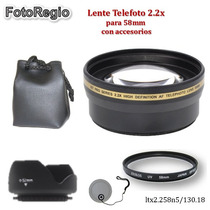 Telefoto Para Canon T3 T3i T4i T5 T5i T6s 60d 6d 5dsr