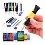 Kit De Desarmadores Reparacion Celulares iPhone iPad 16pzs