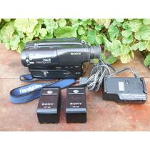 Videocámara Sony Handycam Video 8 Ccd-tr82 Con Cargador