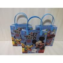 Mickey Mouse Dulceros Fiestas Bolsas 10 Recuerdos Regalos
