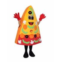 Botarga Disfraz Traje Adulto Rebanada Pizza Pizzeria