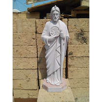 San Judas Tadeo Hecho De Cantera Natural De 1 Mts Altura.