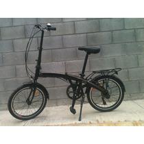 Bicicleta Plegable Modelo Napoles Shimano Rodada 20 Nueva