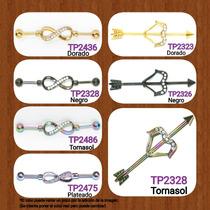 933883060d71 3 Piezas De Piercing Transversal O Industrial Para La Oreja en venta ...