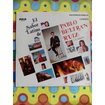 Pablo Beltran Ruiz Y Su Orquesta Lp Sabor Latino 1969