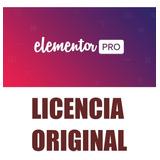 Elementor Pro Wordpress Plugin Con Licencia Original