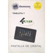 Tablet 7 Pulgadas Pantalla De Cristal Android Klyan