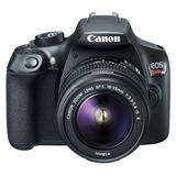 Cámara Reflex Canon Eos Rebel T6 Wifi Nfc 18mp Lente 18-55