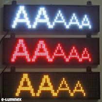 Anuncio Programable Led/tablero Desplegar Mensajes Negocio