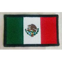Bandera Bordada De México De 9x5.1 (proporciones Oficiales)
