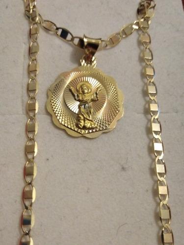 5a3efef83719 Cadena De Oro Para Bautizo Con Medalla Del Divino Niño en venta en ...