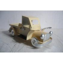 Camioneta Pickup - Camioncito De Lamina - Juguete Artesania