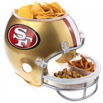 Casco Botanero Nfl De Los 49ers De San Francisco Nfl22