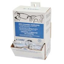 Líder De Limpieza De Lentes Towelette Dispensador (paquete D
