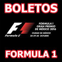 Boletos Formula 1 F1 Gran Premio De Mexico Foro Sol Carrera