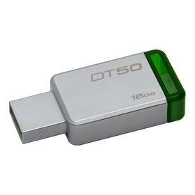 Memoria Usb Kingston Datatraveler 50 16gb Plateado/verde