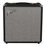 Amplificador Fender Rumble 40 40w Transistor Negro Y Plata 110v