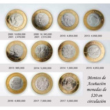 Coleccion Completa D Monedas 20 Pesos Conmemorativas C/album
