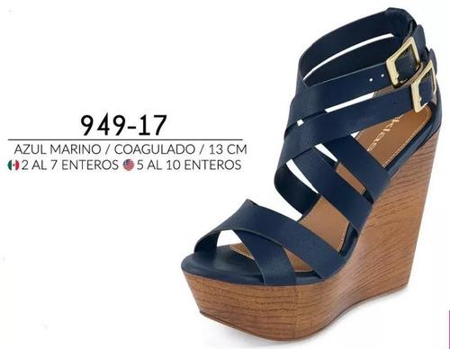 28acb6d9 Sandalias/plataforma Dama Cklass 949-17 Pv-19 13cm Casual en venta en Loma  Encantada Puebla Puebla por sólo $ 695,00 - CompraMais.net Mexico