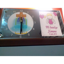 Portaretrato Con Reloj Para Recuerdo