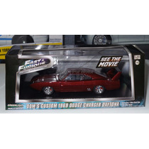 1:43 Dodge Charger Daytona 1969 Rapido Y Furioso Greenlight