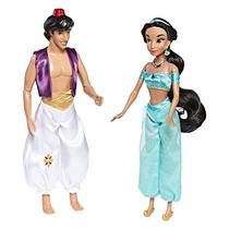 Hermoso Set Aladdin Y Jazmin Juntos Disney Collector