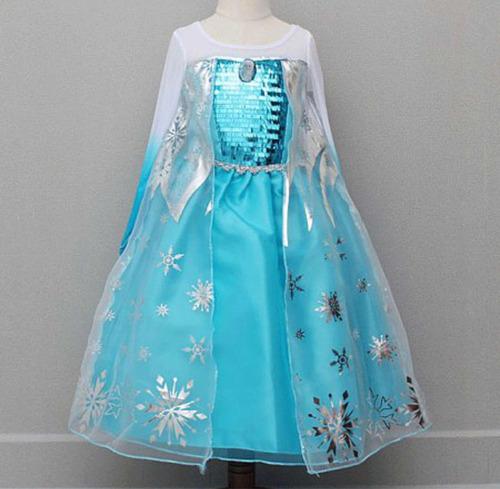 a60053bba Vestido Disfraz Elsa Frozen Mod 2 Lentejuelas Presentación en venta en  Ecatepec de Morelos Estado De México por sólo   549