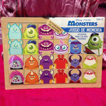 Memorama Monster Inc University