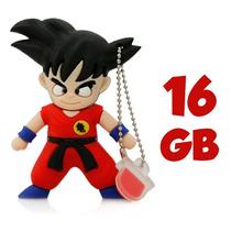 Memoria Usb Goku 16 Gb Dragon Ball Z Gt Super Almacenamiento