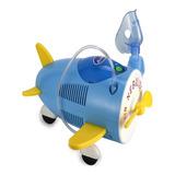 Nebulizador De Compresor Bi-rich Airplane Azul 110v