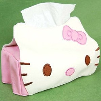Hello Kitty Jefe De Tejidos En Forma De Cubierta De La Caja