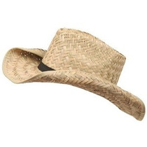 Sombrero De Paja De Vaquero Del Niño (02) -natural W20s28f