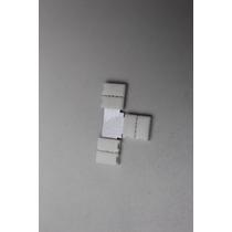 Conector T Para Tiras Led 5050rgb Unir En 2 Ángulo Recto