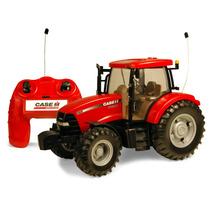 Tractor De Control Remoto Ertl Case Ih Maxxum Rojo Vv4