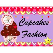 Kit Imprimible Decoracion De Cupcakes + Toppers + Wrappers