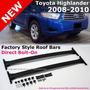 Racks (barras Porta Equipaje) Toyota Highlander 2008 Al 2013 Toyota Highlander