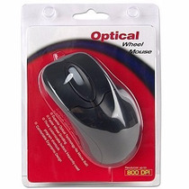 Raton I Micro Mouse Optico Think Con Scroll 3 -botones Negro
