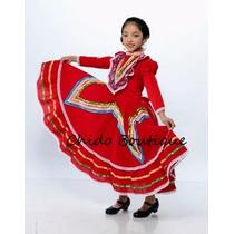 Vestido Regional De Jalisco Para Niña 14 16 En Venta En