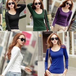 c9e238c44a Lote De 5 Blusas Termicas De Colores De Mujer Moda Japonesa