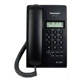 Teléfono Fijo Panasonic Kx-t7703 Negro