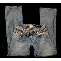 Jeans Hydraulic Talla 5/6 Short Mezclilla Hbvr