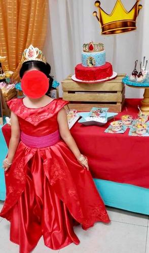 Vestido Elena De Avalor Princesa Disney T10 En Venta En