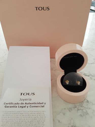 85e29b1640c6 Aretes Tous Oro Y Brillantes Tous Tiffany Bvlgari Tous T co en venta en  Benito Juárez Distrito Federal por sólo   9550