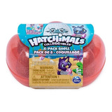 Concha Rosa Hatchimals Colleggtibles Pack 6 Figuras Spin Mas