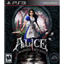 Ps3 - Dlc Alice Madness Return (mercado Pago Y Oxxo)
