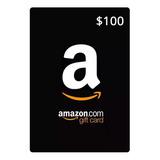 Tarjeta De Regalo $100 Amazon Mx