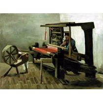 Lienzo Tela Tejedor Vincent Van Gogh Poster 50 X 65 Cm